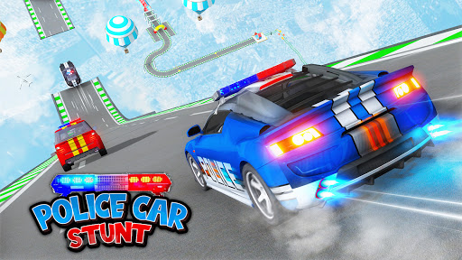 Police Car Stunt Games - Mega Ramps  APK MOD (Astuce) screenshots 6
