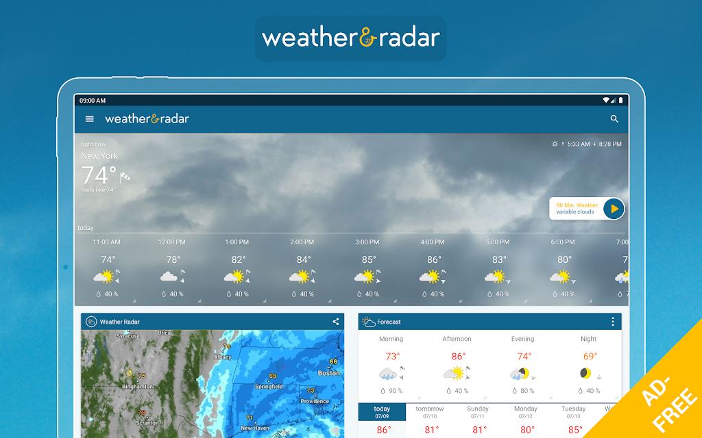 Weather & Radar USA - ad free poster 12