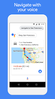 screenshot of Google Assistant Go