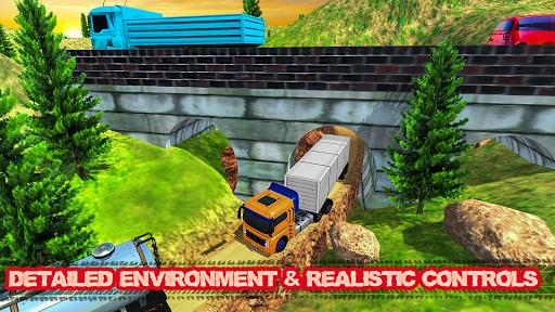 offroad transport truck simulator:truck drive 2019 screenshot 3
