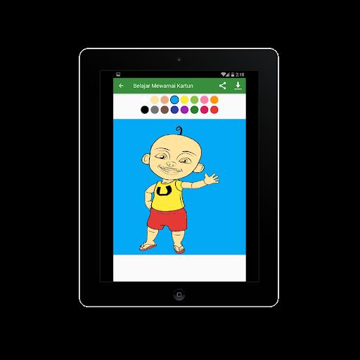 Belajar Mewarnai Gambar Kartun Untuk Anaku2013Infokuu  Screenshots 12