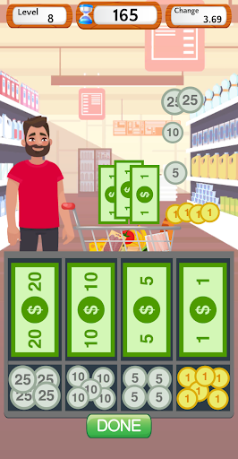 Supermarket Cashier Simulator - Money Math Game screenshots 5