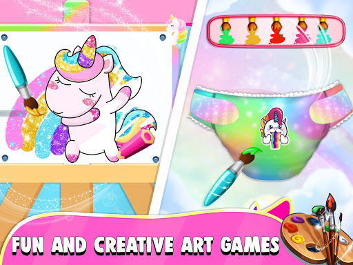 Pregnant Unicorn Mom And Baby Daycare 0.13 screenshots 16
