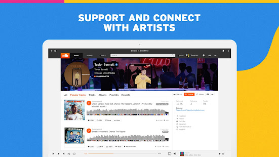 SoundCloud for Chromebooks 2 Screenshots 3