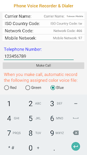 Phone Voice Recorder Dialer (Paid) Screenshot