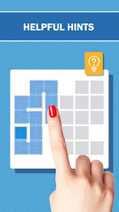 Fill the blocks - Squares connect puzzle game