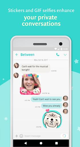 Between - Private Couples App apktram screenshots 3