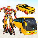 Grand Bus Robot Car Transform -Robot Shooting Game