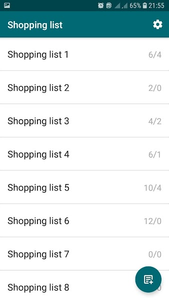Shopping list. CheckList. Colored notes