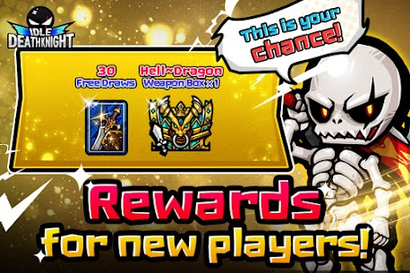 IDLE Death Knight – afk, rpg, clicker games Apk Mod + OBB/Data for Android. 1