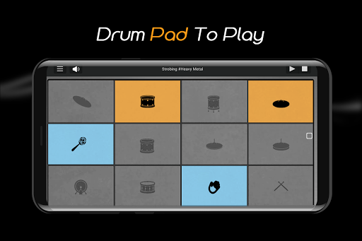 Easy Real Drums-Real Rock and jazz Drum music game 1.3.5 Screenshots 6