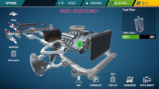 Car Mechanic Simulator 21: repair & tune cars  screenshots 16