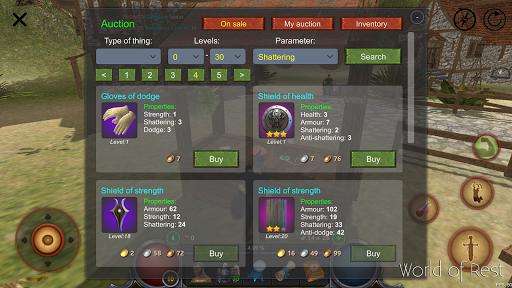 World Of Rest: Online RPG 1.35.0 screenshots 8