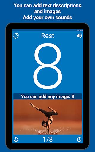 Tabata Timer: Interval Timer Workout Timer HIIT 5.2.1 Screenshots 11