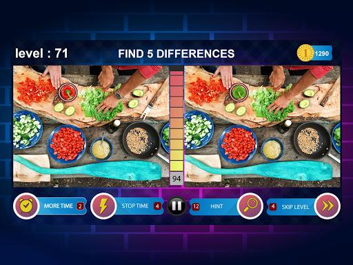 Spot 5 Differences 1000 levels 1.6.1 screenshots 11