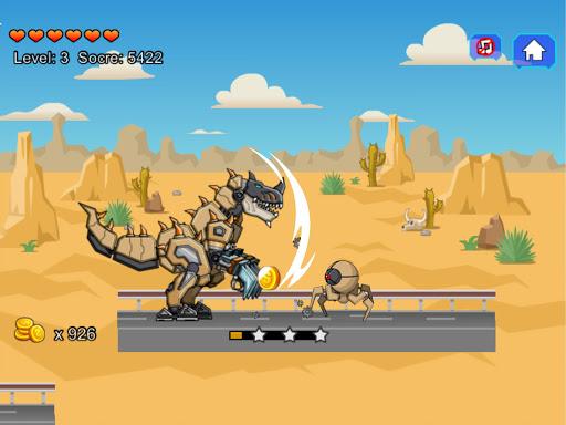 Desert T-Rex Robot Dino Army screenshots 6