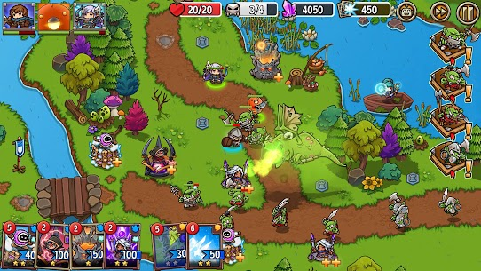 Crazy Defense Heroes: Tower Defense Strategy Mod Apk (Unlimited Resources) 8