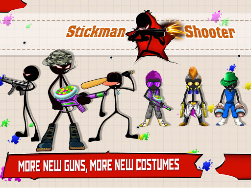 Stickman Shooter : Gun Shooting Games 9.8 screenshots 11