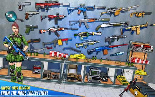 Real Commando Shooting Strike - Fps Shooting Games screenshots 11