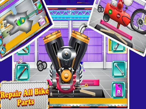 Repair Master 2D: Bike Mechanic Simulator Game screenshots 2