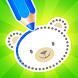 幼児向けドローイング/子供向けぬりえゲーム - Androidアプリ