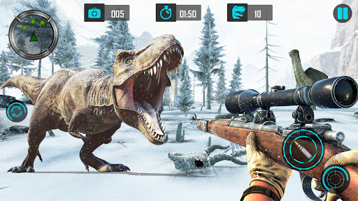 Real Dino Hunting 2018: Carnivores Dino Zoo Game 2.4.5 screenshots 3