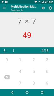 Free Multiplication Memorizer 5