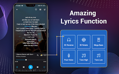 Music Player - Audio Player & 10 Bands Equalizer 2.0.1 Screenshots 18