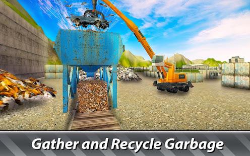 garbage trucks simulator - try junkyard machines! hack