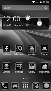 Black And Silver Theme For Pc/ Computer Windows [10/ 8/ 7] And Mac 2