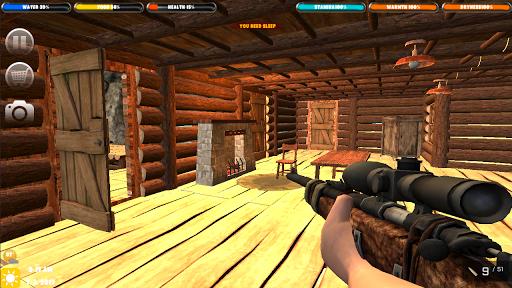 Télécharger Forêt de survie: Survivor Home Builder APK MOD (Astuce) screenshots 2