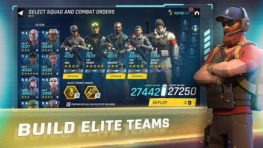 Tom Clancy's Elite Squad - Military RPG 1.4.4 screenshots 7