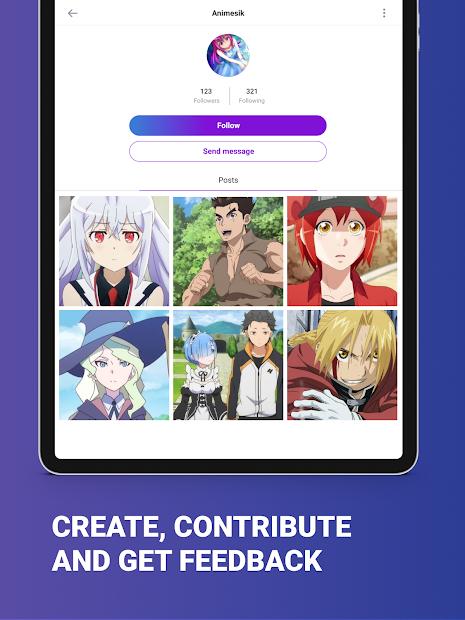 Animesik - Anime & Manga Fun Community screenshot 13