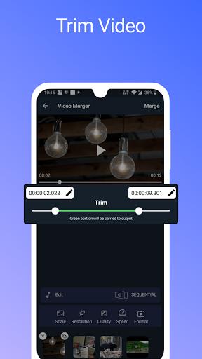 Video Merger, Joiner (MP4, 3GP, MKV,MOV, AVI) modavailable screenshots 5