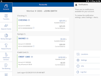 CUofCO Mobile Banking Screenshot