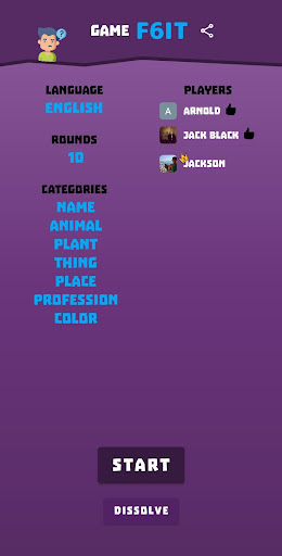 Name Place Animal Thing 3.5.2 screenshots 4