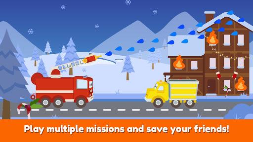 Car City Heroes: Rescue Trucks Preschool Adventure android2mod screenshots 4