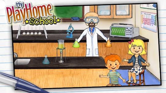 تحميل لعبة My PlayHome School المدرسة مجانا للاندرويد 1