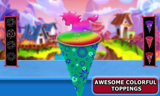 Snow Rainbow Ice Cone Maker: Icy Candy fun 1.0.9 screenshots 3