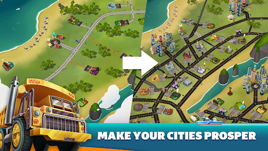 Transit King Tycoon – Seaport and Trucks 4.7 2