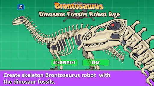 Brontosaurus Dinosaur Fossils Robot Age 2.7 screenshots 2