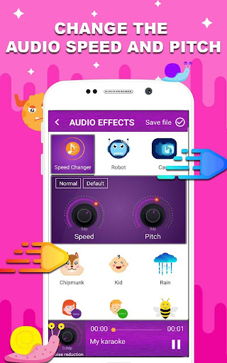 Voice changer - Music recorder with effects  Screenshots 7