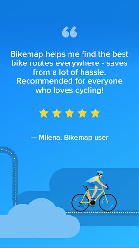 Bikemap - Your Cycling Map & GPS Navigation screenshots 7