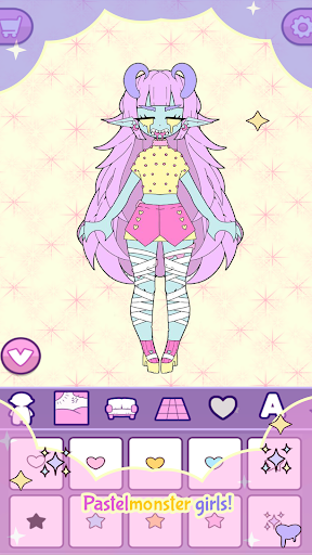 Moon's Closet: Dress up game, Goth girl creator apkdebit screenshots 6