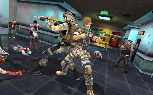 Zombie Shooter Gun Games : Zombie Games  screenshots 2