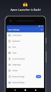 Apex Launcher - Customize,Secure,and Efficient 4.9.18 (Pro) (Mod)