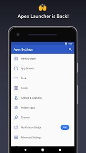Apex Launcher Apk Lastest Version 2021** 1