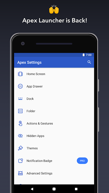 Apex Launcher - Customize,Secure,and Efficient poster 0