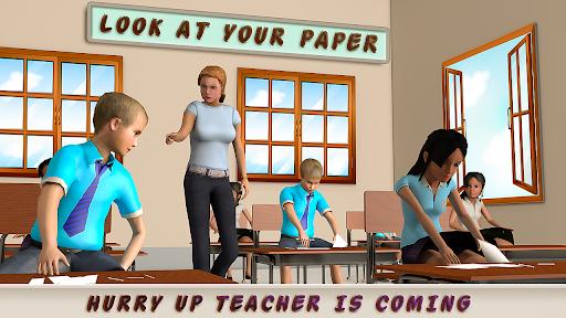 High School Cheater Boy: New Cheating Games 2020 1.1.3 screenshots 1