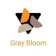Gray Bloom XIU for Kustom/klwp  Icon